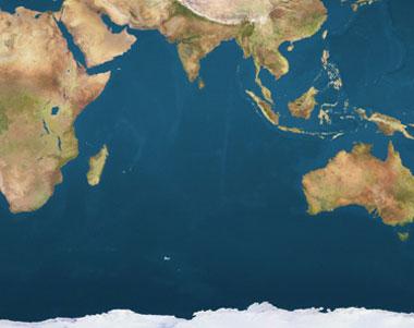 Karta Indien Thailand.Indiska Oceanen P H Travel Dive Ab